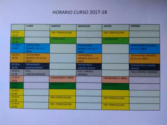horarios 17-18